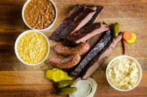 Brisket, ribs, sausage and sides at Killen's Barbecue