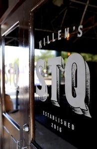 Killen's STQ is located in the space that formerly housed Bramble.