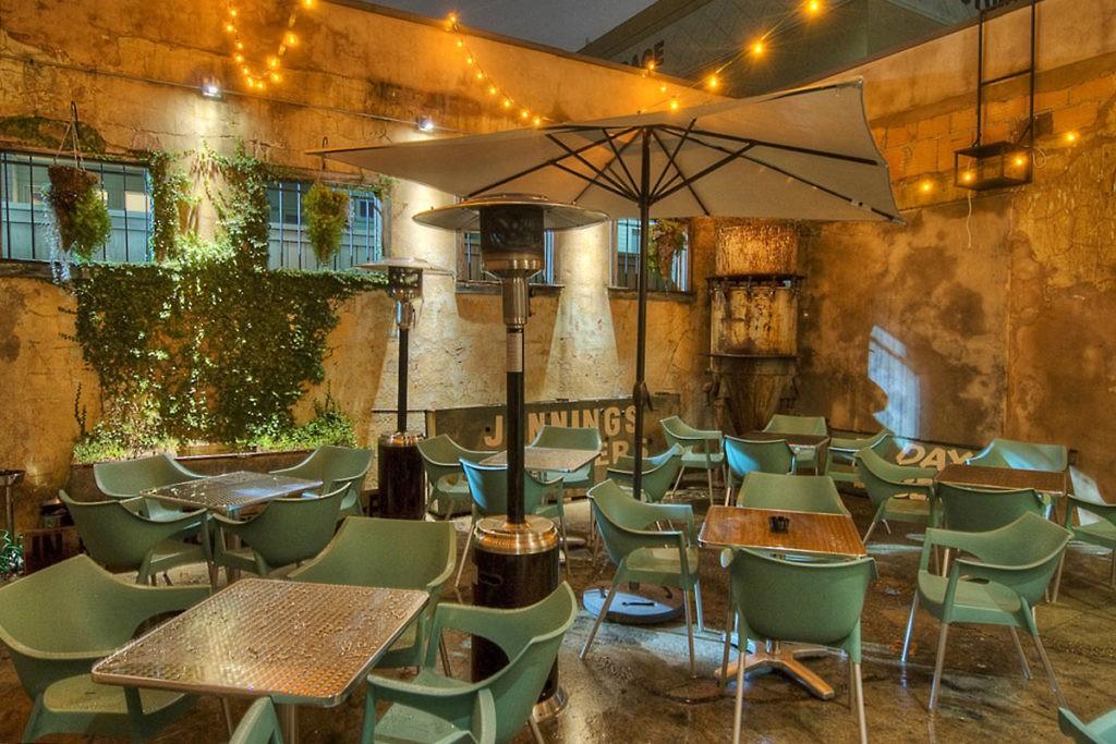13 Celsius patio