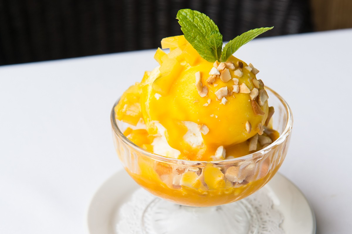 Mango Sundae at Le Colonial