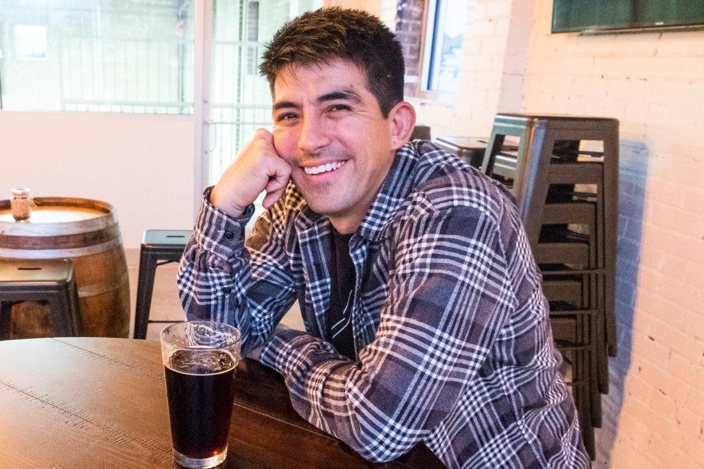 Max Gonzalez at Platypus Brewing
