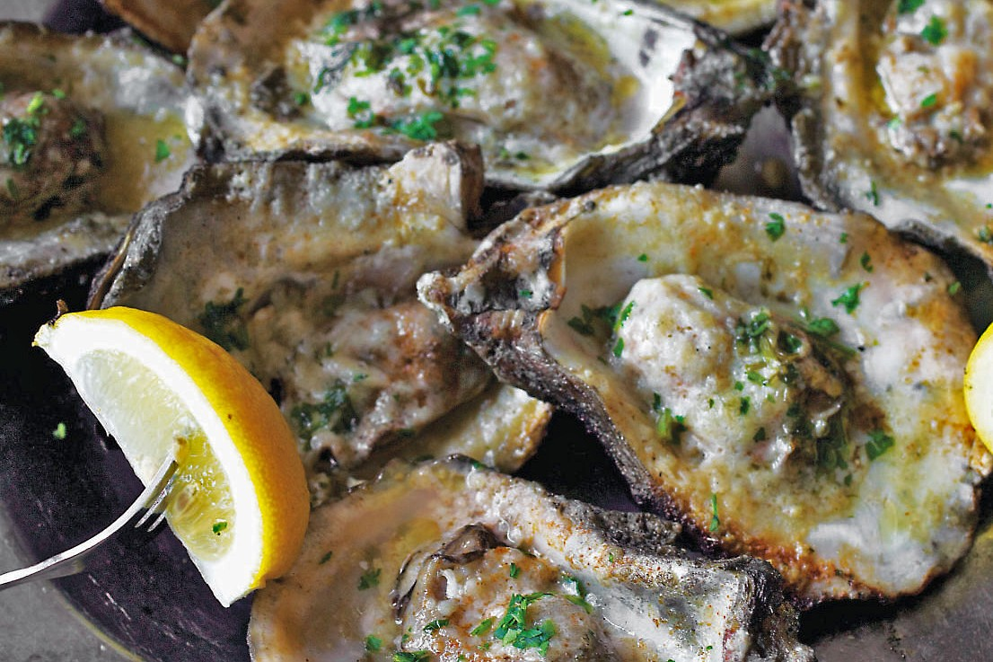 Robb Walsh's Grilled Oysters
