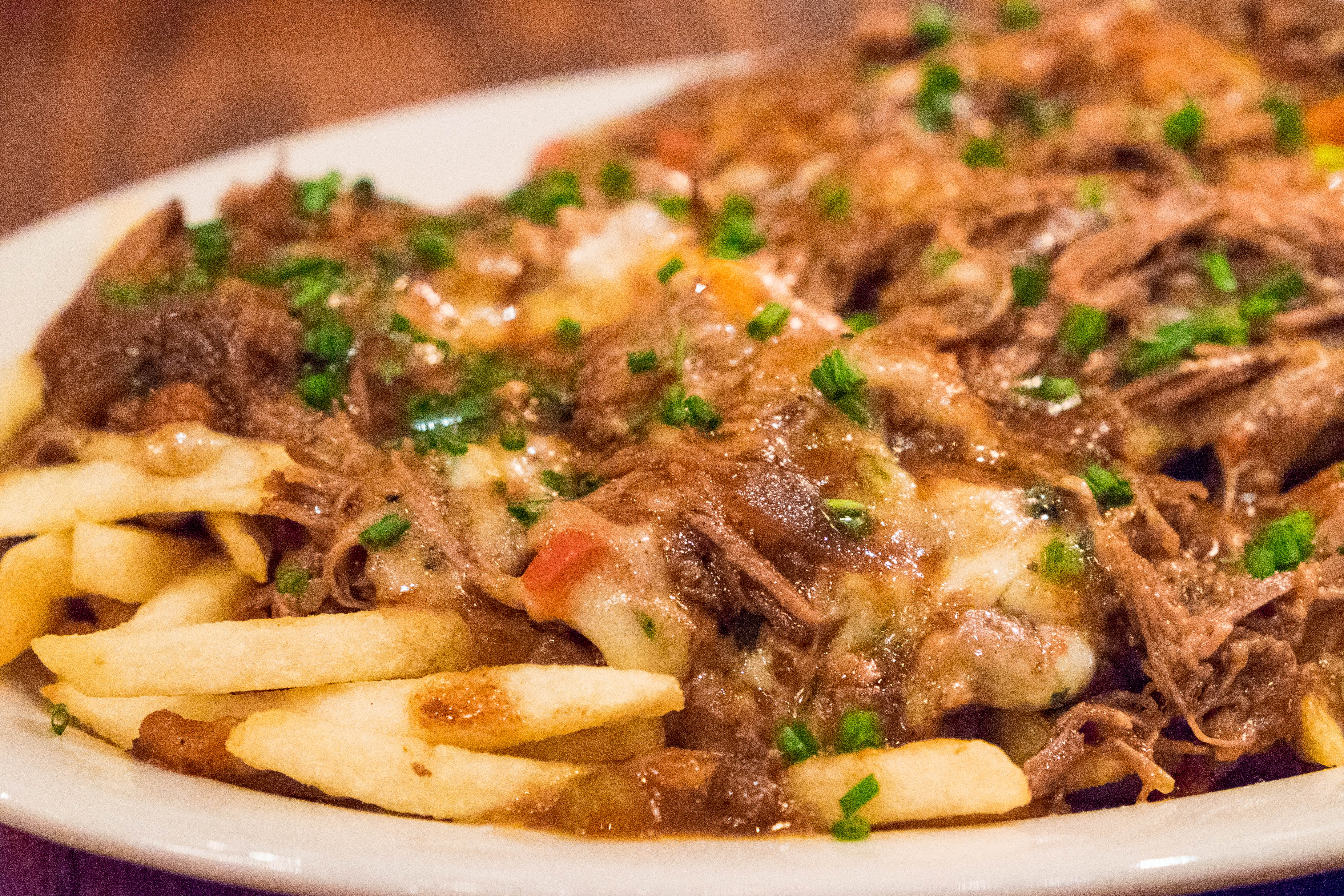 Short Rib Poutine at Hearsay Gastro Lounge