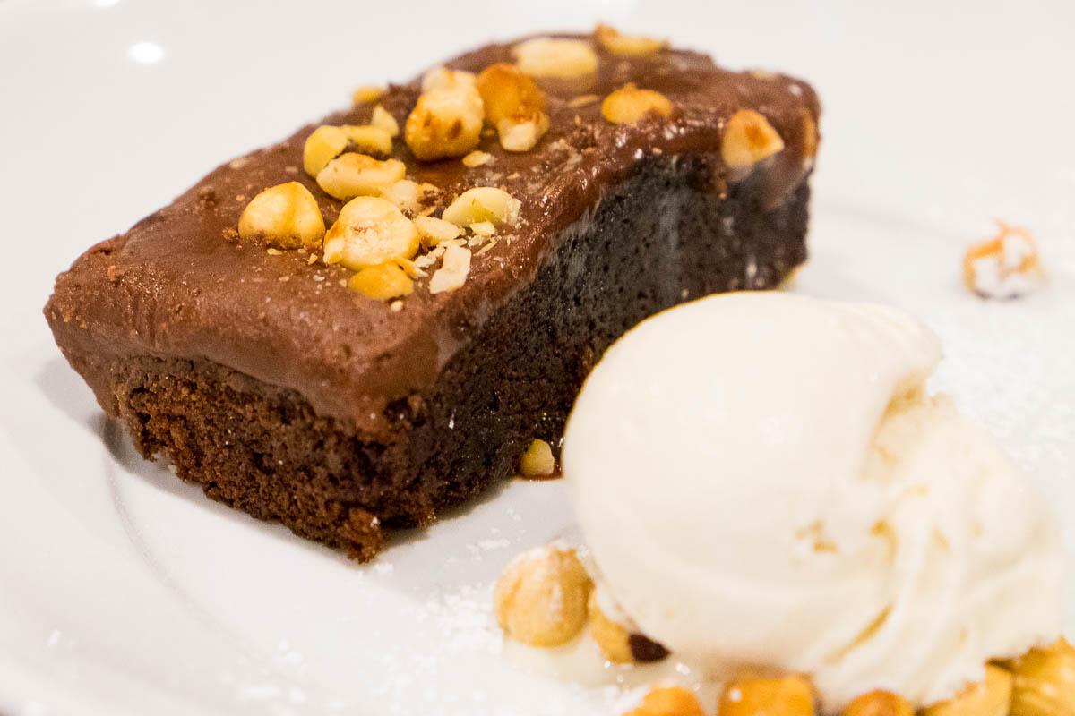 Hazelnut Chocolate Cake at Eloise Nichols