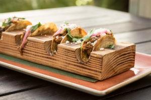 tacos at Churrascos