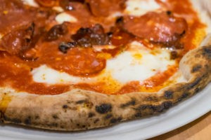Paulie Gee pizza at Cane Rosso