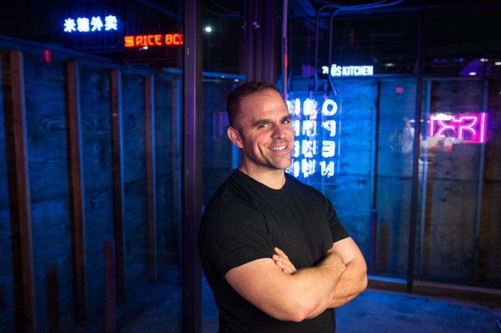 John Peterson at The Rice Box