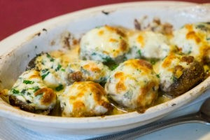 Stuffed Mushrooms at Pasta e Pesto