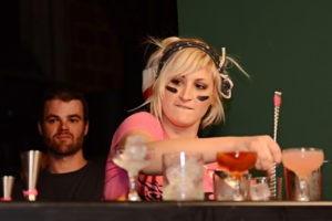 Lainey Collum at Speed Rack 2012