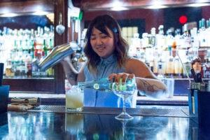 at Bad News Bar