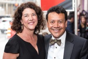 Tracy Vaught and Hugo Ortega