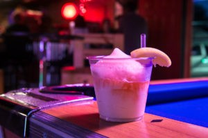 Frozen shandy at