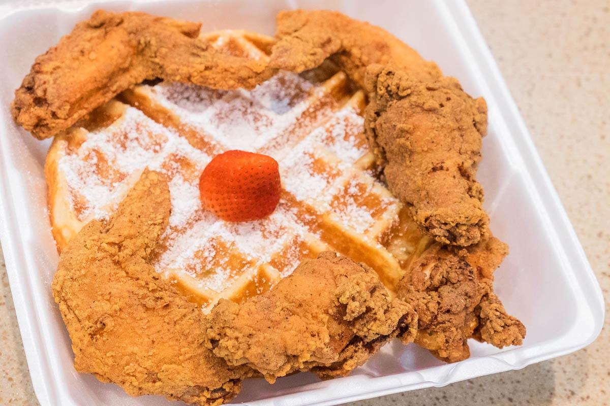 The Breakfast Klub Wings & Waffle at IAH