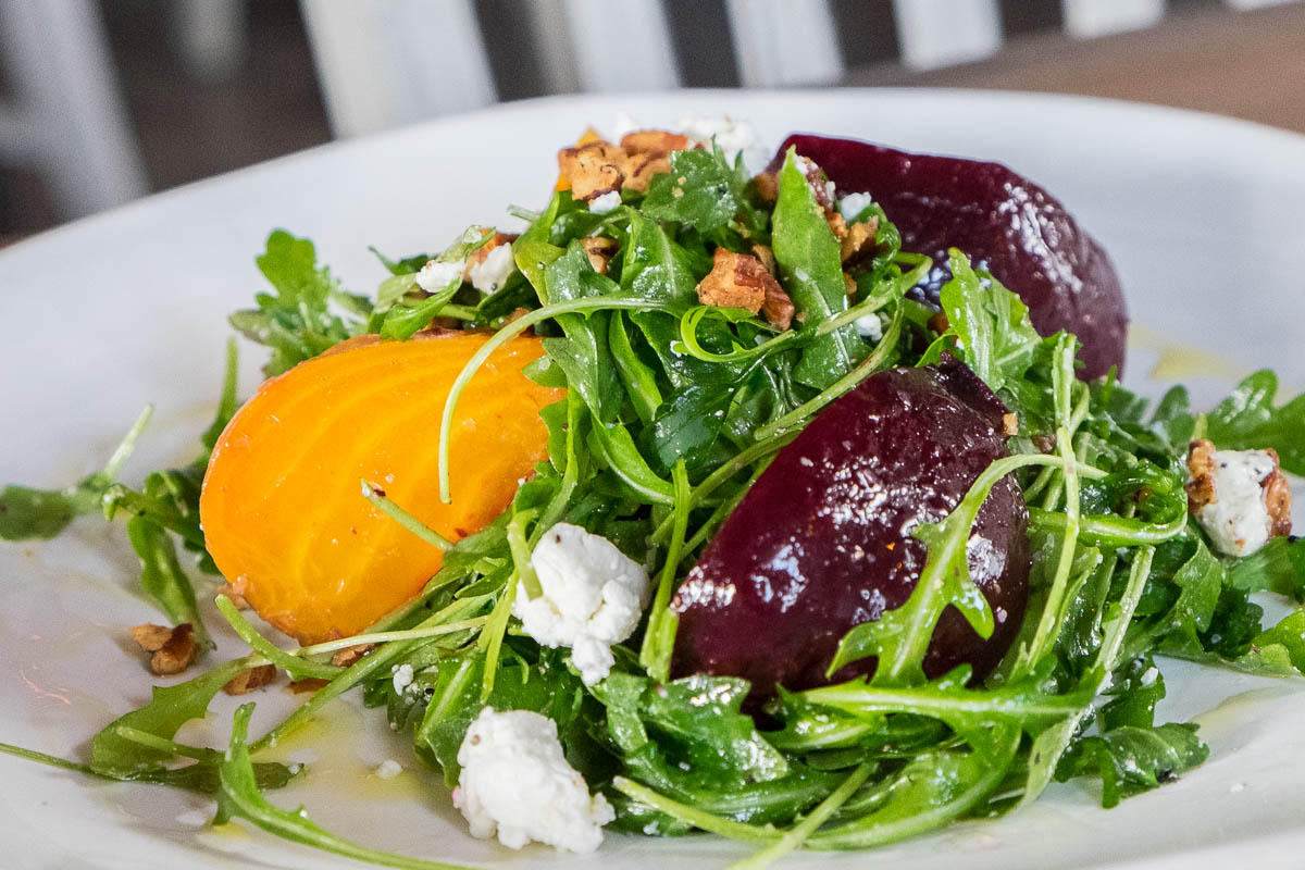 Roasted Beet Salad at Field & Tides
