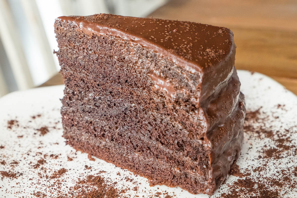 Chocolate Stack Cake at Field & Tides