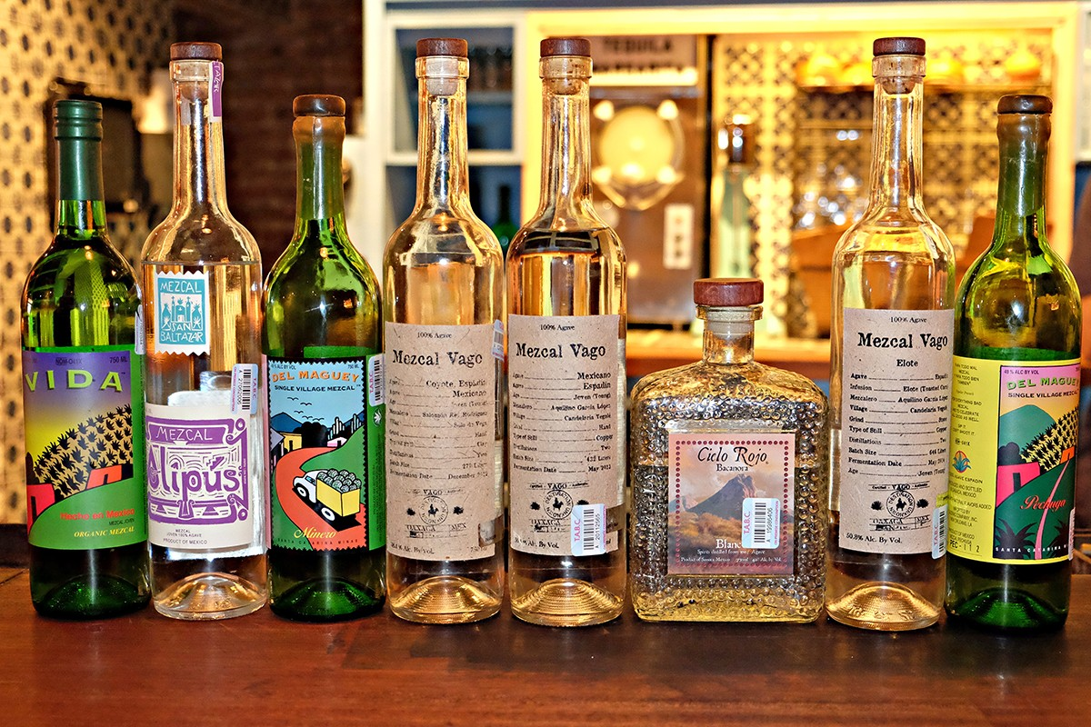 mezcal at The Pastry War