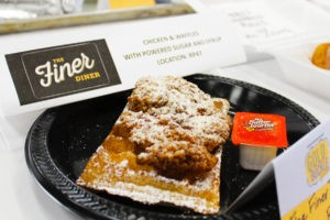 The Finer Diner Fried Chicken & Waffle