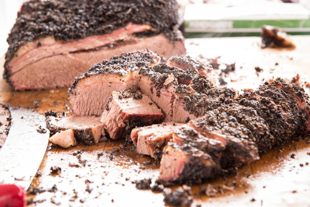 brisket at the Houston BBQ Festival