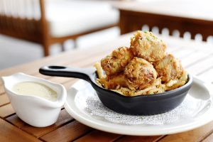 chicken fried steak bites at Killen's Steakhouse