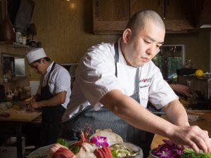 Chef Hori at Kata Robata