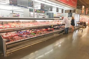 meat department at Bunker Hill H-E-B
