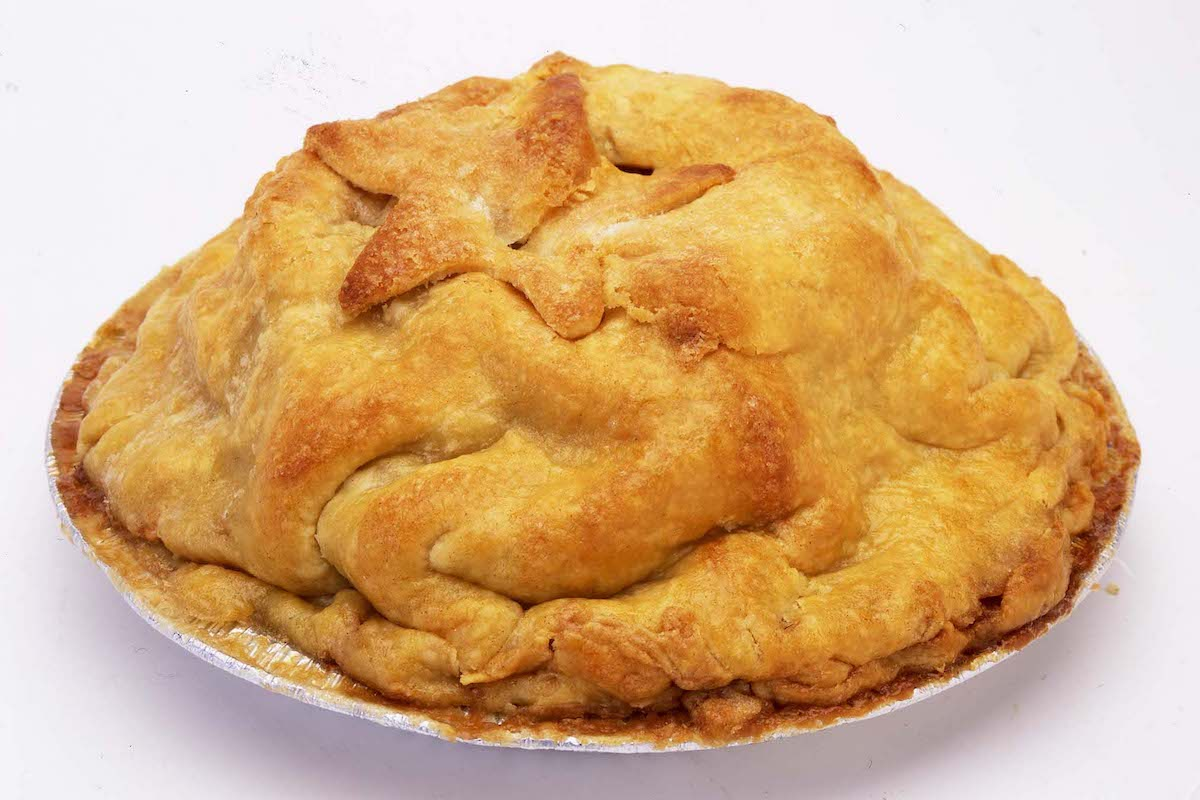 Kenny & Ziggy's apple pie