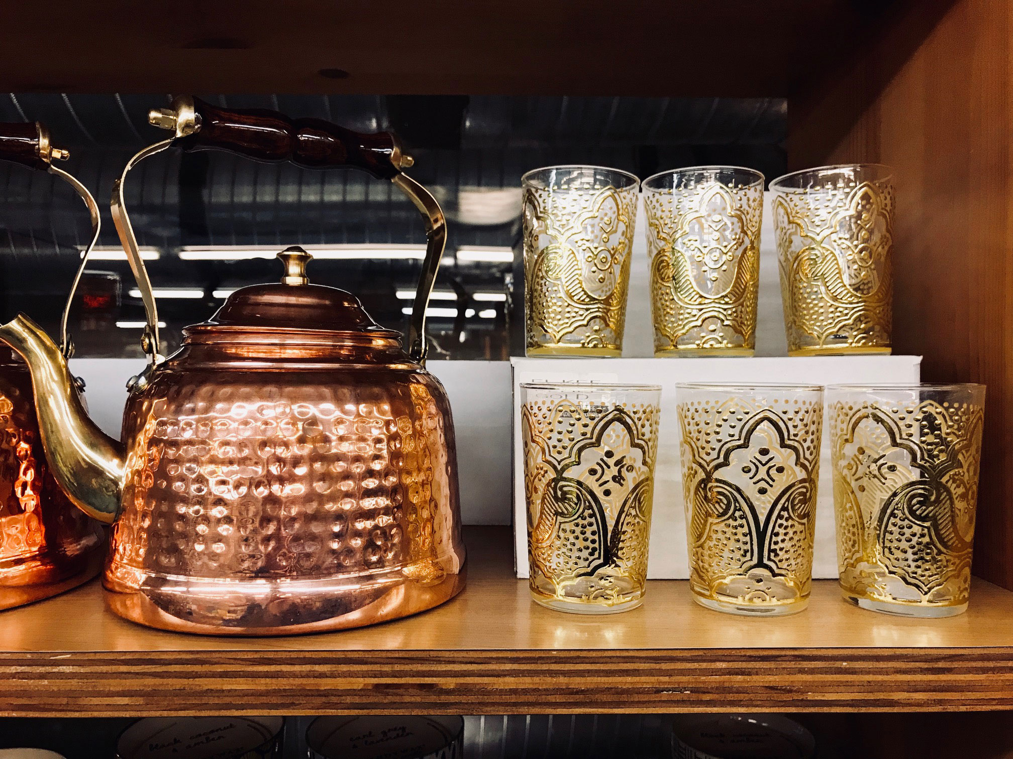 Phoenicia Moroccan tea glasses