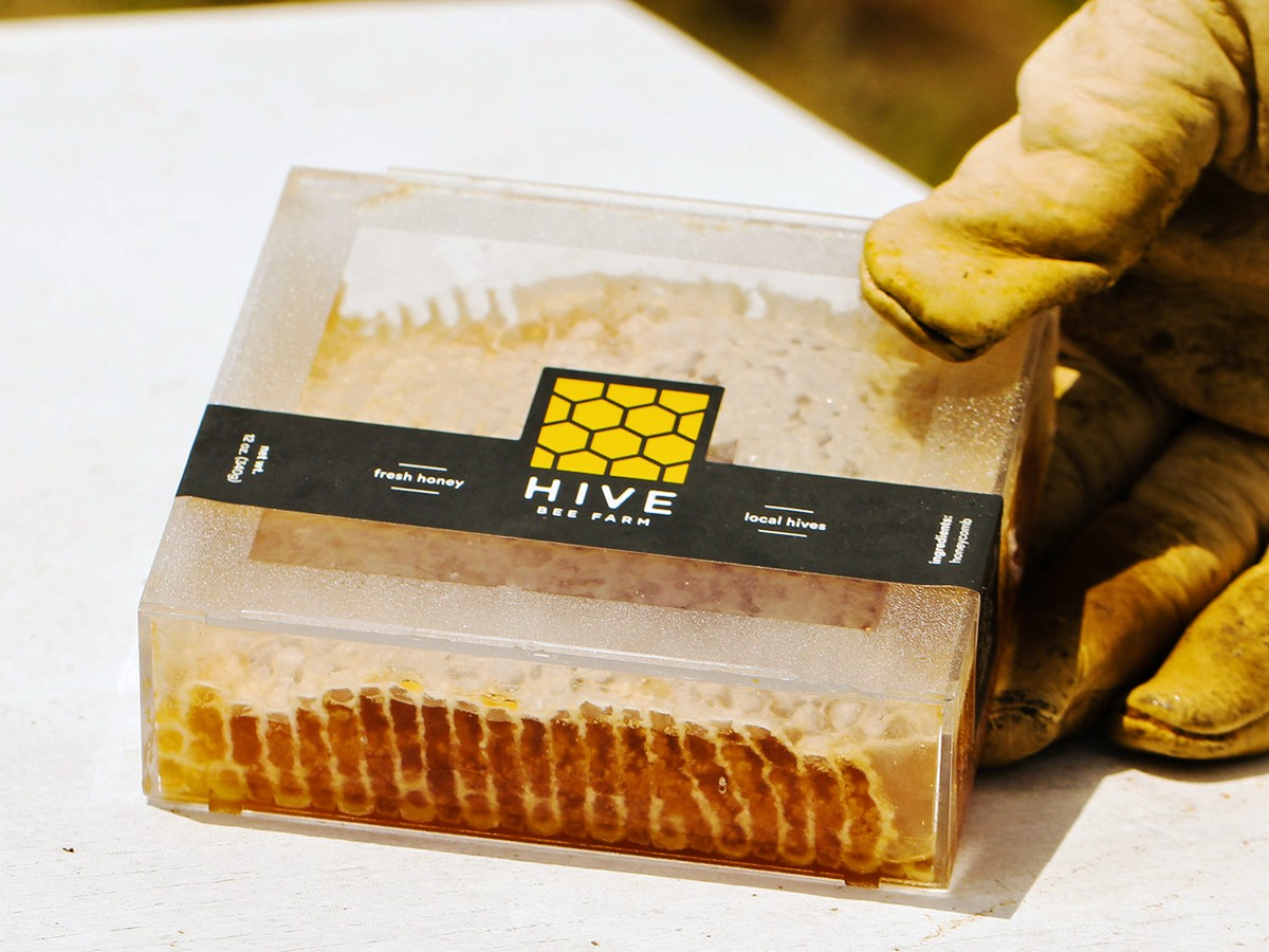 HIVE Bee Farm honey square