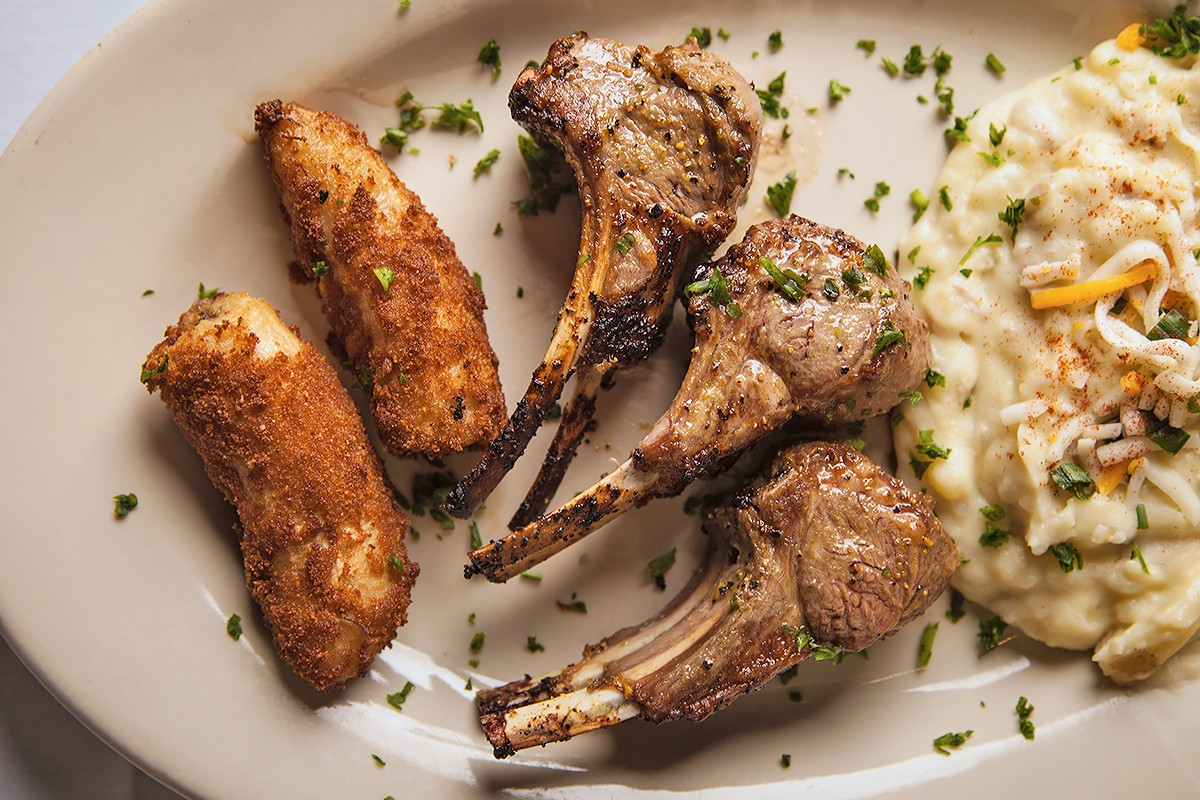 Lamb chops at Chama Gaucha