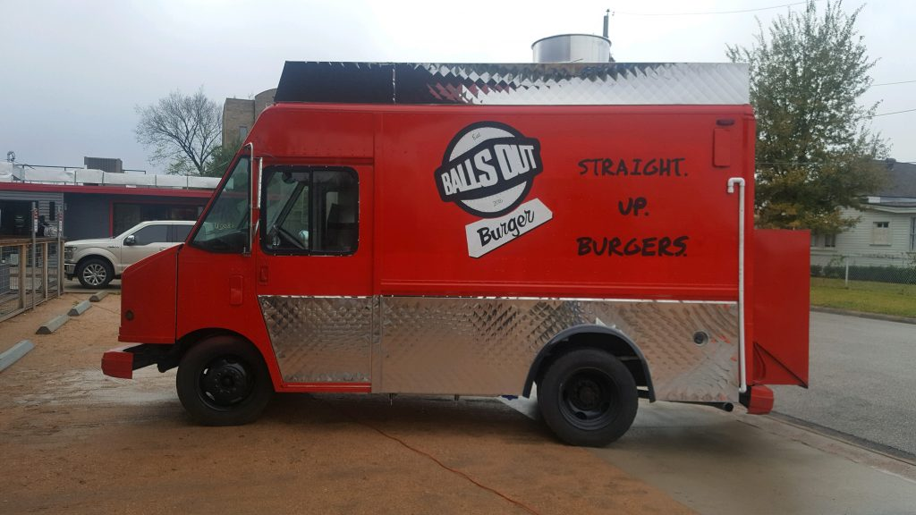 Picture of Balls Out Burger's food truck