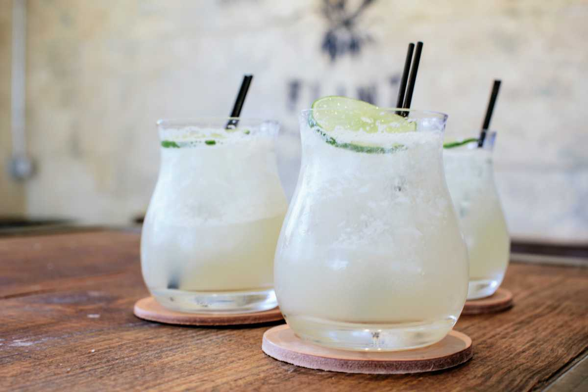 Eight Row Flint margaritas