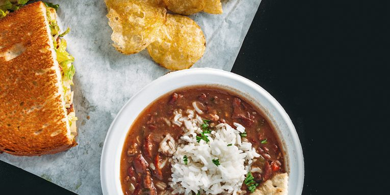 Antone's red beans and rice