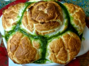 Photo of escargot souffle.