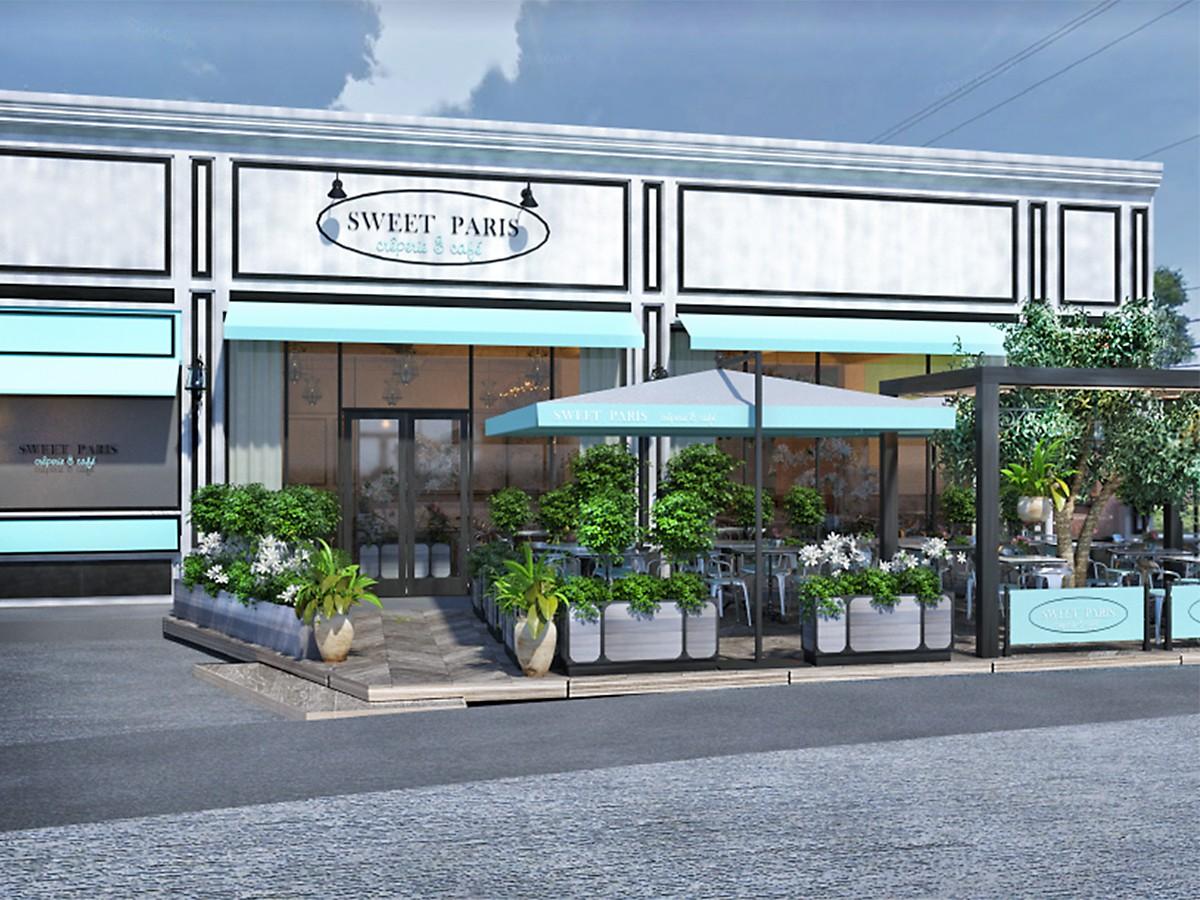 Sweet Paris Highland Village rendering