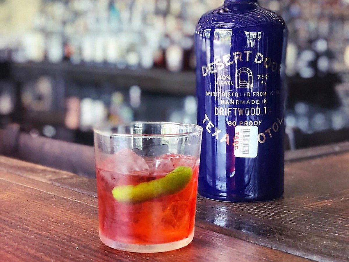 Eight Row Flint Mexican Negroni