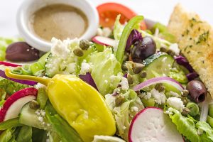 JCI Grill Greek salad