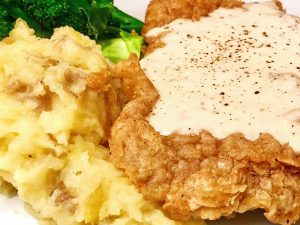 Rainbow Lodge chicken fried steak