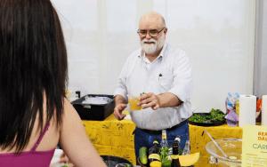 Bear Dalton at the Women of Wine Charities Sangria Throwdown