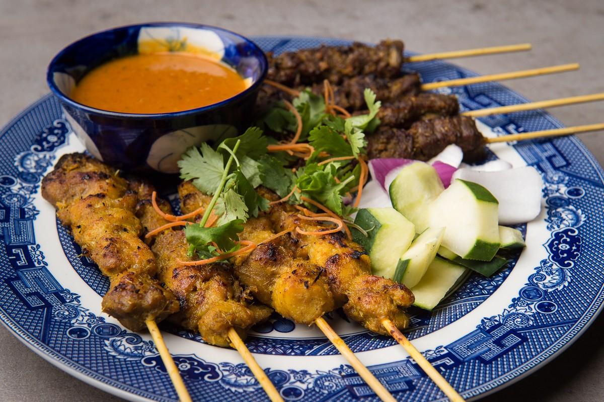 Phat Eatery satay