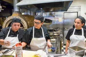 Bistro Provence cooking staff