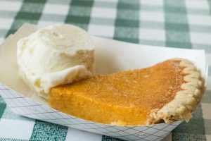 sweet potato pie at Gus's Fried Chicken
