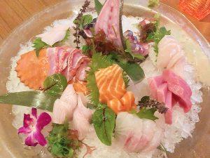 sashimi platter for two at Kata Robata