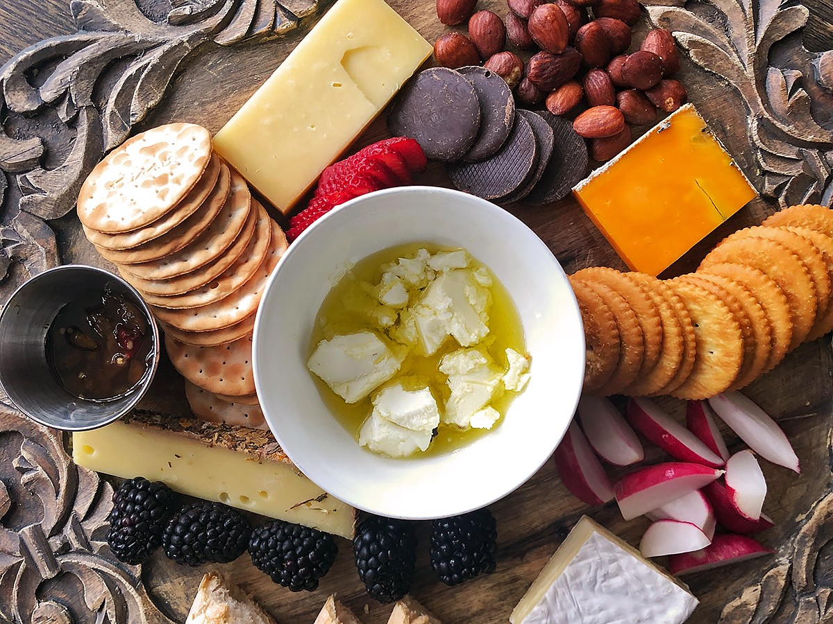 Julep cheese plate