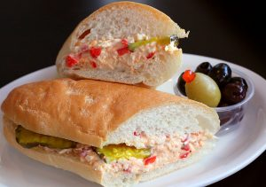 antone pimento cheese po boy