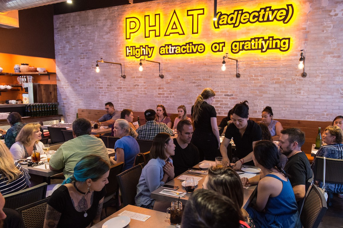 Phat Eatery dining room