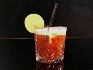 Picture of the Hugo cocktail.