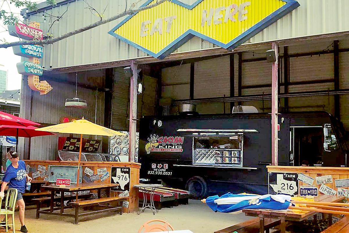 Casian Food Truck Menu