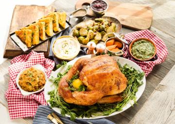 Thanksgiving meal at B&B Butchers