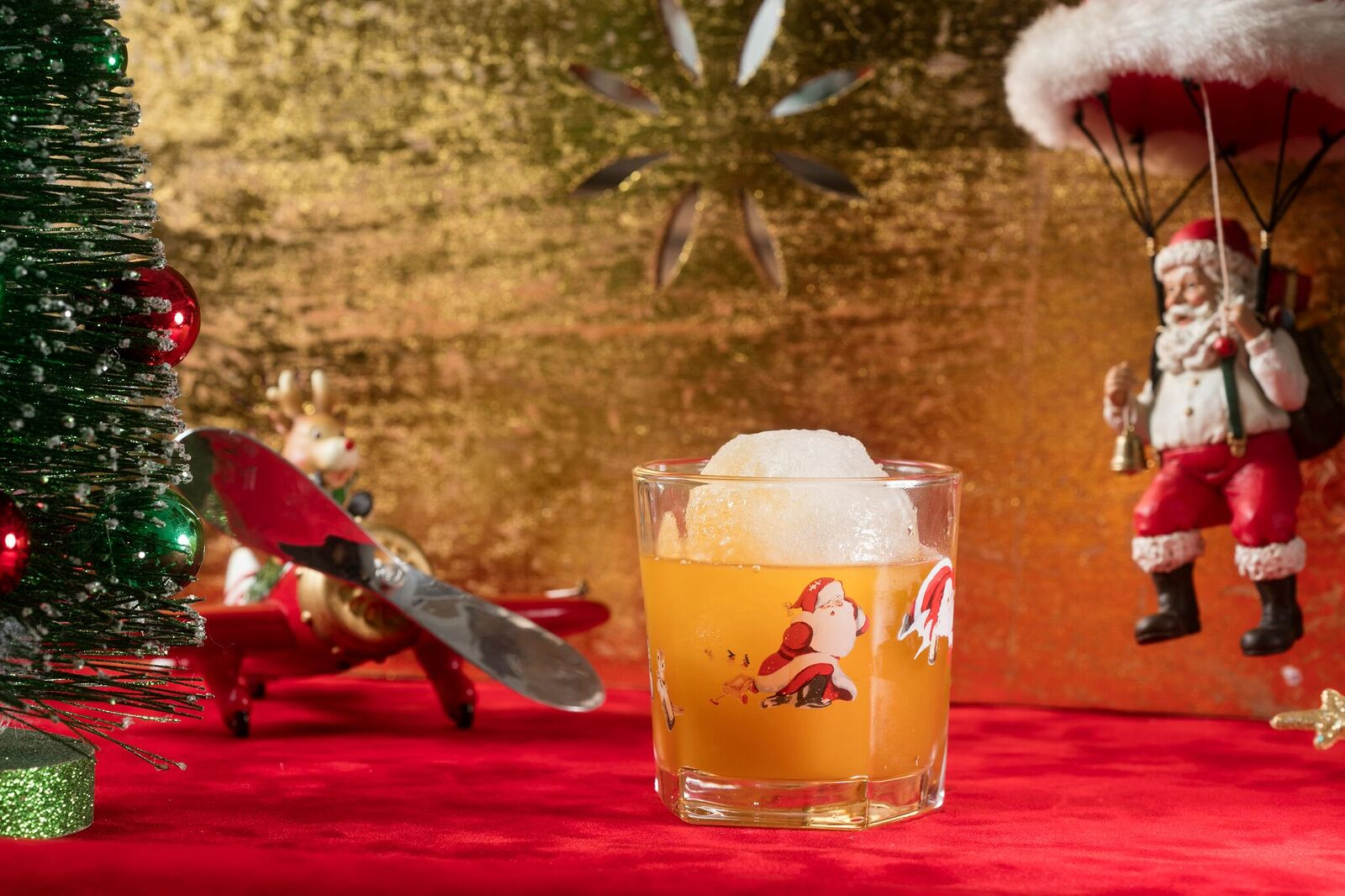 Picture of the Snowball Old Fashioned Cocktail