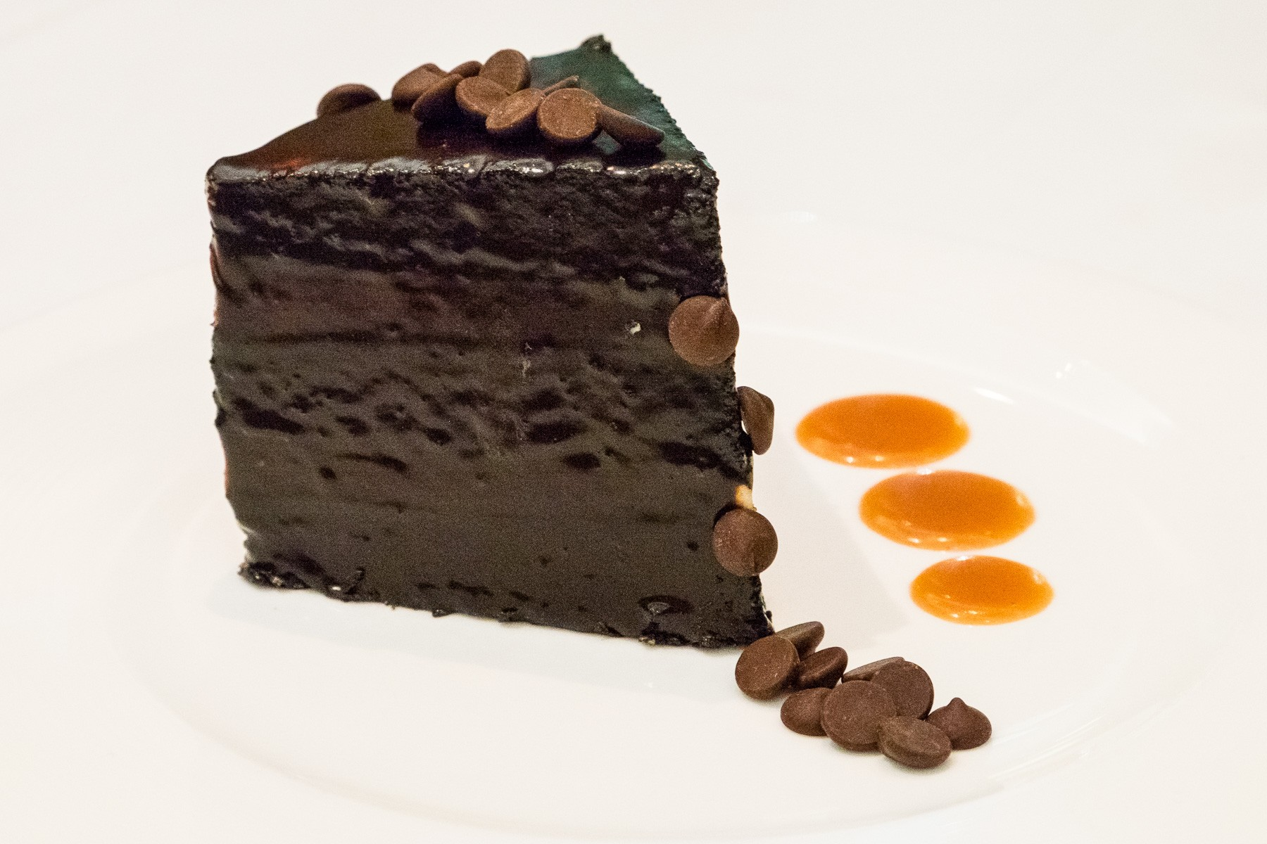 chocolate cake at TRIS